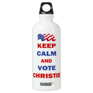 Guarde la calma y vote a Christie
