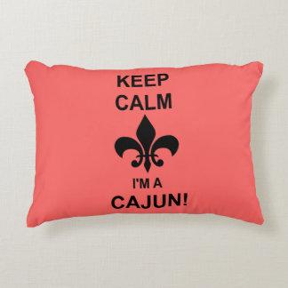 Guarde la calma, yo son una almohada de Cajun