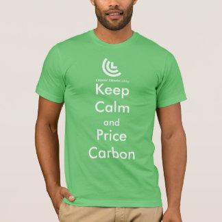 Guarde la camiseta de los hombres del carbono de