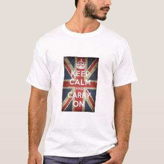 Guarde la camiseta tranquila de Gran Bretaña