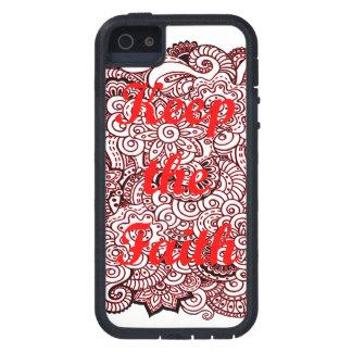 Guarde la fe funda para iPhone SE/5/5s