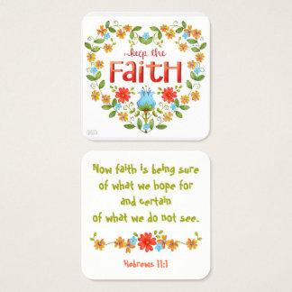 Guarde la fe • Negocio • Mamá • Tarjeta de la