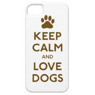 Guarde la pata animal de los mascotas del mascota  iPhone 5 Case-Mate carcasa