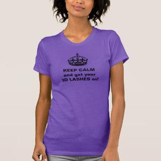 Guarde los latigazos tranquilos 3D Camiseta