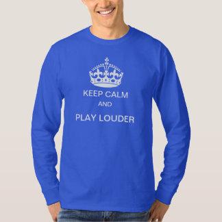 Guarde una camiseta más ruidosa de la calma y del