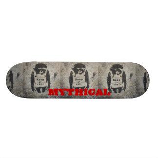 guárdelo cubierta real del mono patines personalizados