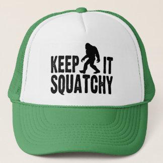 Guárdelo gorra del camionero de Squatchy