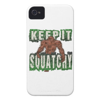 GUÁRDELO SQUATCHY FUNDA PARA iPhone 4 DE Case-Mate