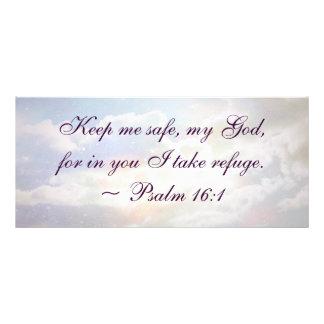 Guárdeme cita segura del salmo lonas