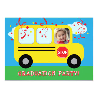 Guardería o foto Invitat de la graduación del Invitación 12,7 X 17,8 Cm
