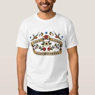 Guardería viva del amor camisetas