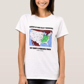 Guárdese de sacador potente de los tornados del camiseta