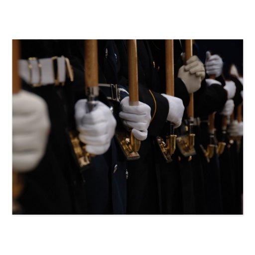 Guardia de honor ceremonial común, inauguración de postal