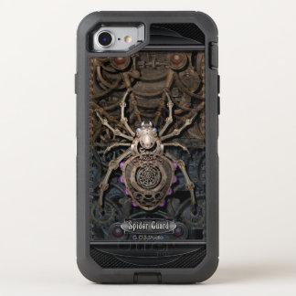 Guardia Steampunk. de la araña Funda OtterBox Defender Para iPhone 8/7