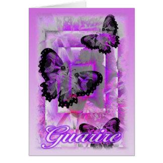 Guarire-Agradézcale tarjeta italiana de la