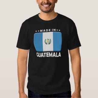 Guatemala hizo camisetas