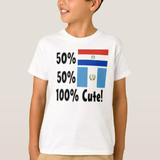 Guatemalteco del Paraguayan el 50% del 50% el 100% Camiseta