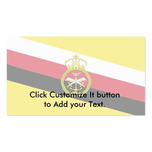 Guerra bandera de Brunei, Brunei Tarjetas De Negocios