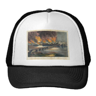 Guerra civil americana la caída Richmond de abril Gorras