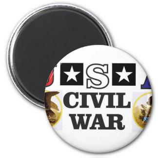 guerra civil blanca y azul roja imanes