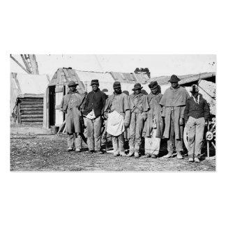 Guerra civil, Teamsters negros Tarjetas De Visita