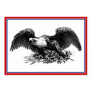 Guerra Eagle del vintage Tarjetas De Visita Grandes