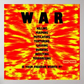 GUERRA: El poster, arte del concepto por Gary