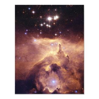 Guerra y nebulosa de la paz invitación 10,8 x 13,9 cm