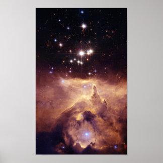 Guerra y paz NGC6357 de NASAs Impresiones