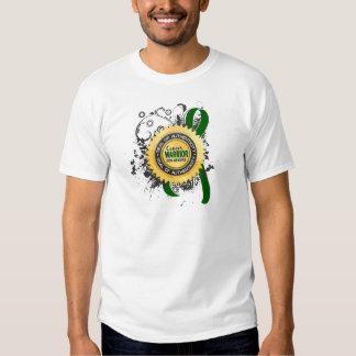 Guerrero 23 del cáncer de hígado camisetas