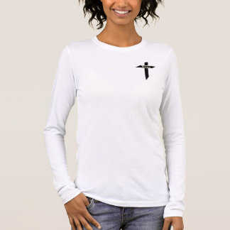 Guerrero cristiano camiseta de manga larga