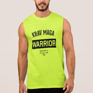 Guerrero de Krav Maga Camisetas Sin Mangas
