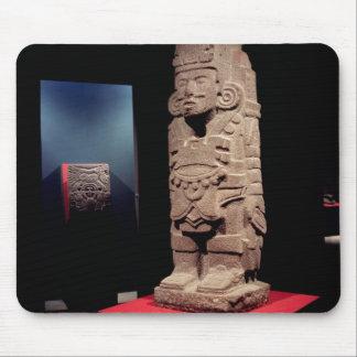 Guerrero de la cultura de Toltec Alfombrilla De Ratones