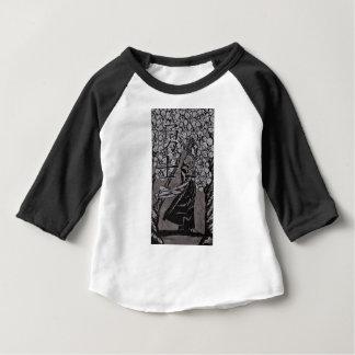Guerrero de la flor de cerezo por Carretero L Camiseta De Bebé