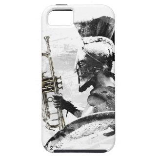 Guerrero de la trompeta funda para iPhone SE/5/5s