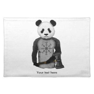 Guerrero de Viking de la panda Salvamanteles