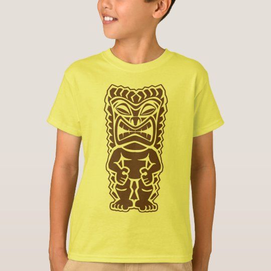 Guerrero del tótem de Tiki Camiseta