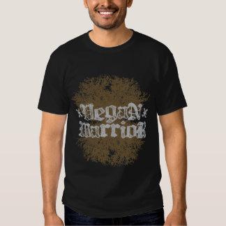 Guerrero del vegano, camiseta de la oscuridad de