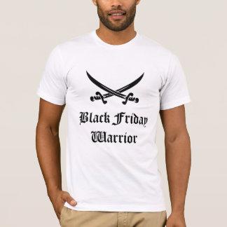 Guerrero negro de viernes camiseta