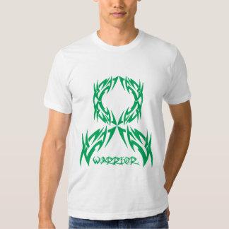 Guerrero para hombre del cáncer de hígado tribal camisas