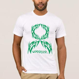 Guerrero para hombre del cáncer de hígado tribal camiseta