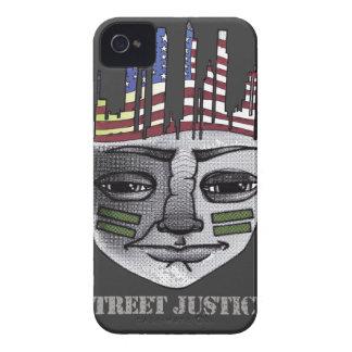 Guerrero urbano por la justicia de la calle iPhone 4 Case-Mate cárcasa