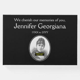 Guestbook básico, llano de las condolencias libro de invitados