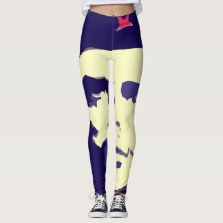 guevara del che del arte pop de las polainas leggings