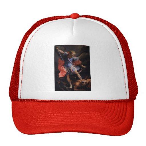 Guido Reni- el arcángel Michael que derrota Satan Gorras