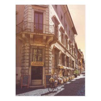 Guijarro italiano de la bici del comprador del postal