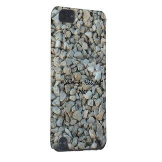 Guijarros en fotografía de la piedra de la playa funda para iPod touch 5