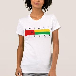 Guin largo del símbolo de la nación de la bandera camisetas