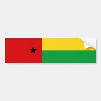 Guin largo del símbolo de la nación de la bandera pegatina para coche