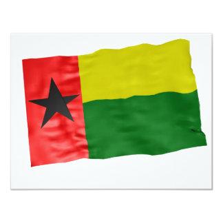 Guinea-Bissau Invitación 10,8 X 13,9 Cm